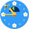 アナログ時計(ミツバチ)