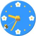 アナログ時計(ミツバチ)2