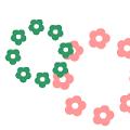 花が広がる打ち上げ花火